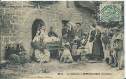 KERNASCLEDEN - Un Baptème - Autres Communes