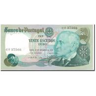 Billet, Portugal, 20 Escudos, 1978-09-13, KM:176a, NEUF - Portogallo
