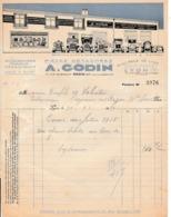 1930 - LYON - Pièces Détachées Pour Véhicules Automobiles A.GODIN - Documents Historiques