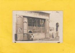 CARTE-PHOTO 84 AUBIGNAN LA POSTE TELEGRAPHE TELEPHONE PUB TIMBRE ANTITUBERCULEUX - France