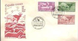 FDC 1962 - Spaanse Sahara