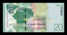 Santo Tome Y Principe 20 Dobras 2016 (2018) Pick 72 SC UNC - San Tomé Y Príncipe