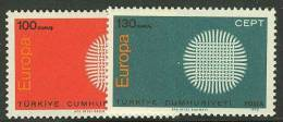 TURKEY  1970 EUROPA CEPT  MNH - Europa-CEPT