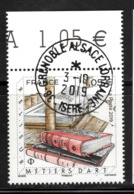 France  2019.Métiers D'Art Relieur.Cachet Rond Gomme D'Origine. - Oblitérés