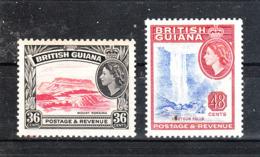 Guyana  British - 1954. Vista Di Georgetown E Cascata Kaieteur. View Of Georgetown And Kaieteur Waterfall. MNH - Geografia