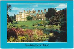 SANDRINGHAM HOUSE, GARDENS AND LAKE, NORFOLK. UNPOSTED - Angleterre