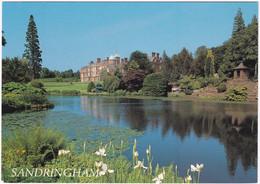 SANDRINGHAM HOUSE, NORFOLK, FROM THE LAKE #1. UNPOSTED - Angleterre