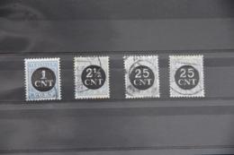 B 448 ++ 1923 NEDERLAND NETHERLANDS PORT 61-64 CANCELLED GESTEMPELD - Impuestos