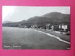 MENTONE- Lungomare, CP Glacée - Menton