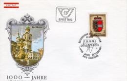 FDC - 1000 Jahre Österreich Salzburg 25.10.1976 Ersttag - FDC