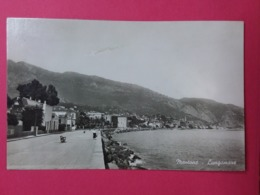 MENTONE- Lungomare Et Promenade, CP Glacée - Menton