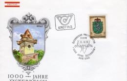 FDC - 1000 Jahre Österreich Steiermark 25.10.1976 Ersttag - FDC