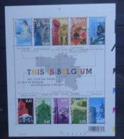BELGIE  2003    Blok 104   'This Is Belgium'    Postfris **   Cw 13,00 - Blocs 1962-....