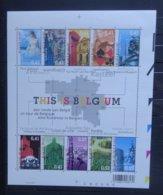 BELGIE  2003    Blok 104    (2)  'This Is Belgium'    Postfris **   CW 13,00 - Blocs 1962-....