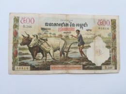 CAMBOGIA 500 RIELS - Cambogia