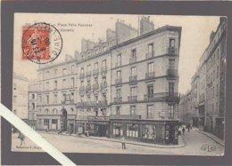 Nantes / La Place Félix Fournier, Angle Rue Du Couédic, L'agence Havas  ( Rare) - Nantes