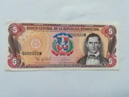 REPUBBLICA DOMINICANA 5 PESOS ORO 1997 - Dominicaine