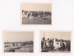 CARTE PHOTO MILITARIA MAXSTADT 57 Moselle Mars Et Avril 1940 LOT DE 3 - Guerra 1939-45