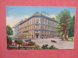 Italy > Lombardia > Milano (Milan) Hotel Du Parc   Has Overprinted Stamps & Cancel   Ref   3655 - Milano (Milan)