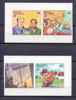 2428/2431 STRIPS ONGETAND 1991 - Belgique