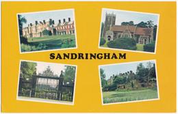 SANDRINGHAM, NORFOLK MULTIVIEW #1. NORWICH GATES, CHURCH. UNPOSTED - Angleterre