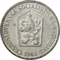 Monnaie, Tchécoslovaquie, 10 Haleru, 1963, TTB, Aluminium, KM:49.1 - Czechoslovakia