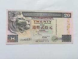 HONG KONG 20 DOLLARS 1999 - Hong Kong