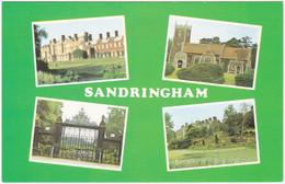 SANDRINGHAM, NORFOLK MULTIVIEW. NORWICH GATES, CHURCH. UNPOSTED - Angleterre