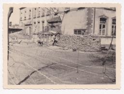 CARTE PHOTO MILITARIA PC St Agnely à Morsbach 57 Moselle Avril 1940 - Guerra 1939-45