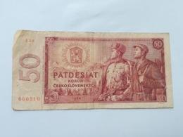 CECOSLOVACCHIA 50 KORUN 1964 - Cecoslovacchia