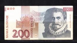 BANKNOTES-SLOVENIA-200-CIRCULATED-SEE-SCAN - Slovenia