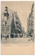 CPA - BLANKENBERGUE (Belgique) - Le Théâtre, Rue De L'Eglise - Blankenberge