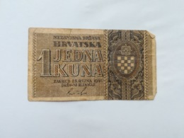 CROAZIA 1 KUNA 1942 - Kroatië