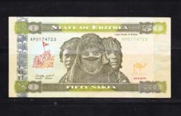 BANKNOTES-ERITREA-50-CIRCULATED-SEE-SCAN - Eritrea