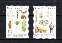 Nuova Zelanda  New Zealand  - 1991. Archeologia Alle Isole Chatham. Archeology At The Chatham Islands. MNH - Archeologia