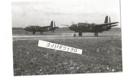 PHOTO AVION DOUGLAS BOSTON AU DECOLLAGE A VITRY EN ARTOIS  ARCHIVE ECPA 9X6CM - 1939-1945: 2a Guerra