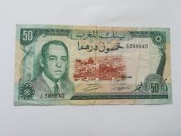 MAROCCO 50 DIRHAMS 1970 - Marokko