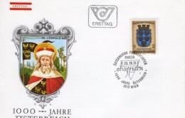 FDC - 1000 Jahre Österreich Niederösterreich  25.10.1976 Ersttag - FDC