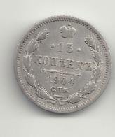15 Kopeken 1904 Russland.Silber. - Russia