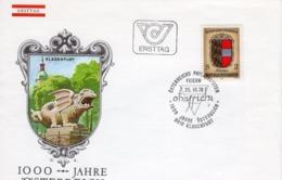 FDC - 1000 Jahre Österreich Kärnten  25.10.1976 Ersttag - FDC