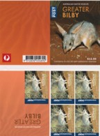 Australia 2019 Wildlife - Greater Bilby $2.50 2006 Self-adhesive Mint Sheetlet - Ungebraucht