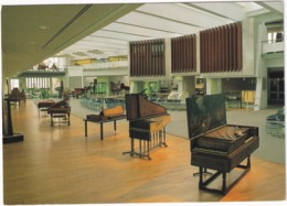 Berlin - Nordfenster Mit WURZLITZER ORGEL, 2 Cembali Von J. Und A. Ruckers - Musikinstrumenten Museum - Mitte