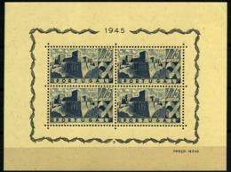 Portugal Nº 10. Año 1945 - Blocks & Sheetlets