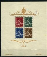 Portugal Nº 9. Año 1945 - Blocchi & Foglietti