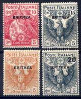 ERYTHREE - 41/44* -CROIX ROUGE - Erythrée