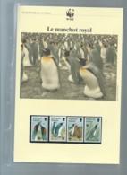 Falkland Islands 1991 King Penguin/Königspinguin WWF, Ensemble Complet -  Car116 - W.W.F.