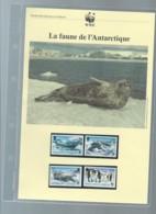 WWF -  British Antartic Territory  1986 ,  Ensemble Complet -  Car119 - W.W.F.