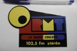 Autocollant Stickers Médias RADIO COULEUR 103.5 Fm Stéréo - Pegatinas