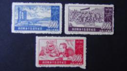China - 1952 - Mi:CN 180-2, Sn:CN 155-7, Yt:CN 947-9* - Look Scan - 1949 - ... People's Republic