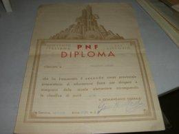 DIPLOMA GIOVENTU' ITALIANA DEL LITTORIO 1939 - Diploma & School Reports